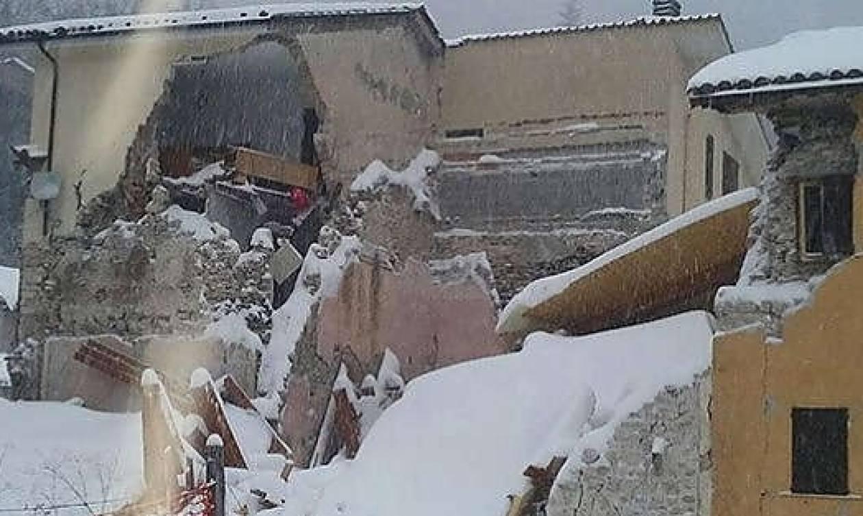 Τέσσερις ισχυροί σεισμοί στην Ιταλία – Ο Εγκέλαδος χτύπησε (ξανά)
