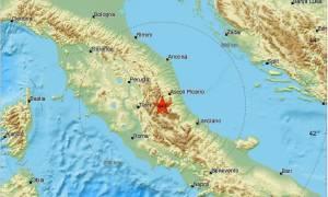 Ιταλία: Τέσσερις ισχυροί σεισμοί σε μία ώρα