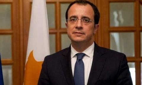 Χριστοδουλίδης: Στόχος να προκύψει έγγραφο εργασίας από τις συζητήσεις στο Μοντ Πελεράν