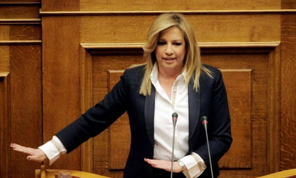 Βουλή – Αγροτικό - Γεννηματά: Η κυβέρνηση είναι ηθικά και πολιτικά ηττημένη