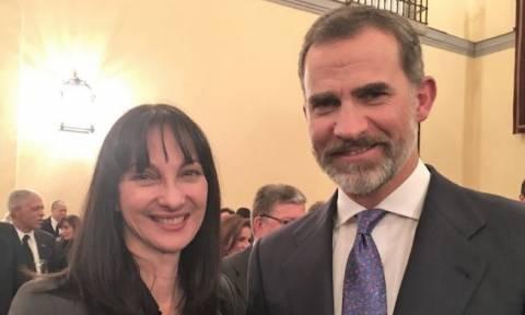 Tourism minister Kountoura meets King Felipe VI of Spain