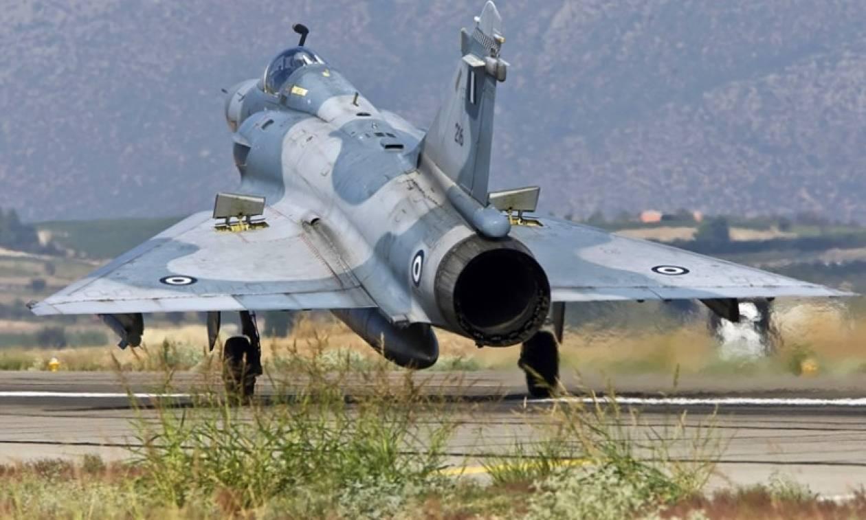 Ατύχημα με ελληνικό F-16 στον Άραξο