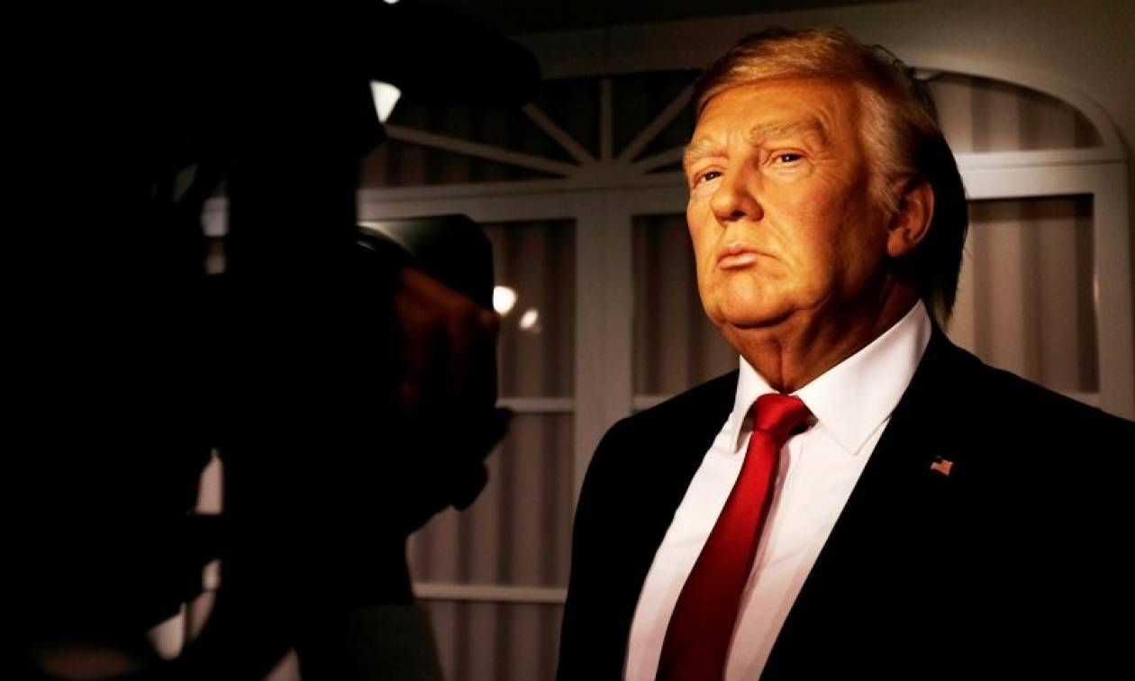 Λονδίνο: Αποκαλυπτήρια για το κέρινο ομοίωμα του Τραμπ στο μουσείο της Μαντάμ Τισό (pics)