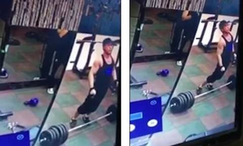 Βίντεο σοκ: Σήκωσε βάρη και έσπασε (;) τη σπονδυλική του στήλη