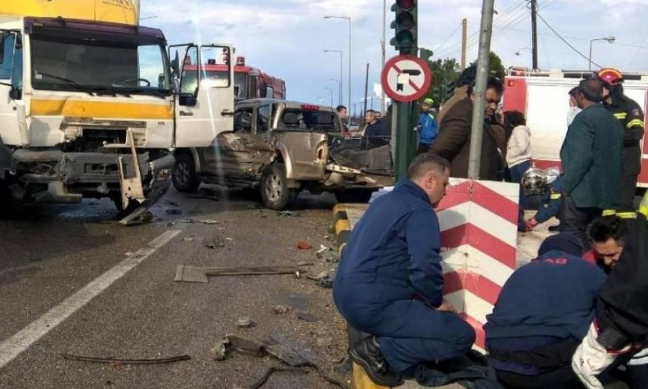 Τρεις νεκροί σε τροχαίο στην Εθνική Οδό Πατρών - Πύργου