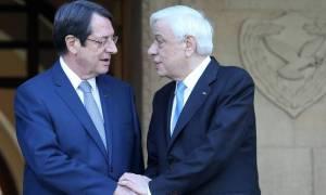 Παυλόπουλος-Αναστασιάδης: Λύση του Κυπριακού χωρίς εγγυήσεις