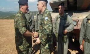 A/ΓΕΣ: Αιφνίδια επίσκεψη του νέου Αρχηγού στο Καστελόριζο
