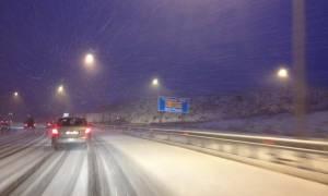 Καιρός: Άνοιξε η Εγνατία μετά από πολλές ώρες αποκλεισμού λόγω χιονιά