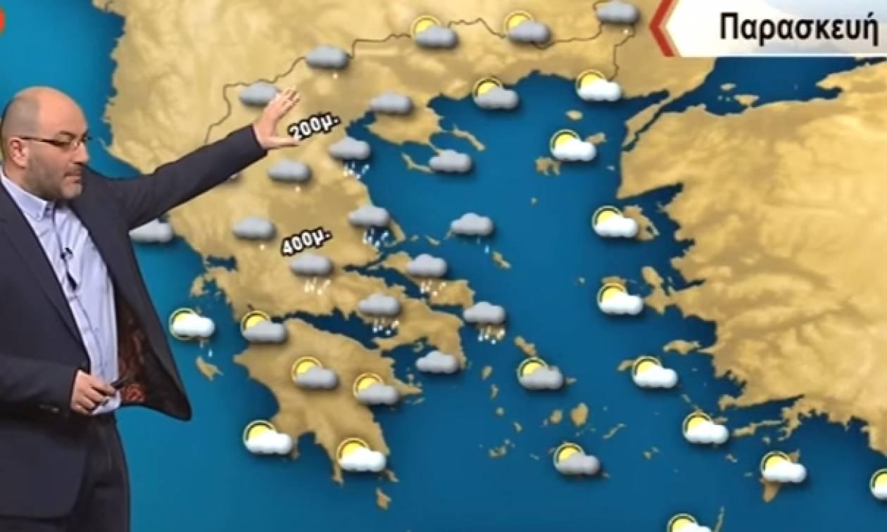 Χιόνια και την Παρασκευή! Πού θα χιονίσει; Απαντά ο Σάκης Αρναούτογλου (video)