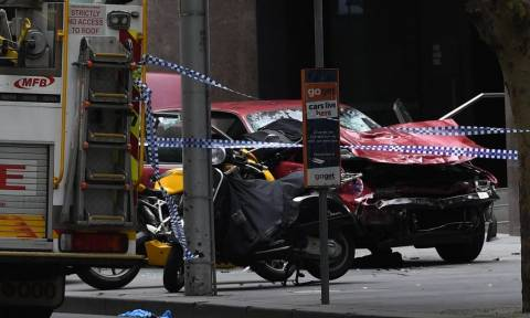 Three dead, more than 15 injured after driver ploughs car into Australian pedestrians