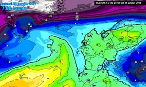 Καιρός: Η πολική «αρκούδα» επιστρέφει στην Ελλάδα με χιόνια και στην Αθήνα (προγνωστικοί χάρτες)