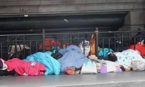 Δραματική αύξηση των αστέγων στη Μελβούρνη
