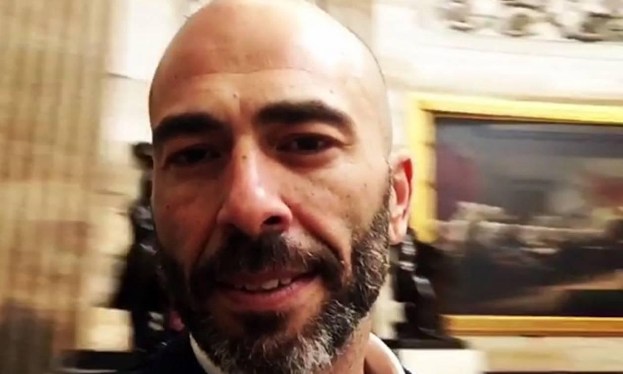 Ορκωμοσία Τραμπ: Το βίντεο του Βαλάντη μέσα από το Καπιτώλιο (vid)