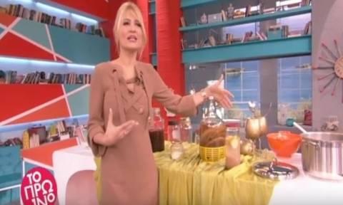 Θα κλαίτε από τα γέλια με το σαρδάμ της Φαίης Σκορδά on air: «Εγώ λέω να φύγω»