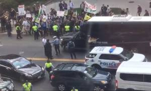 Ορκωμοσία Τραμπ: Πολλές συλλήψεις στην Ουάσινγκτον μετά τα επεισόδια