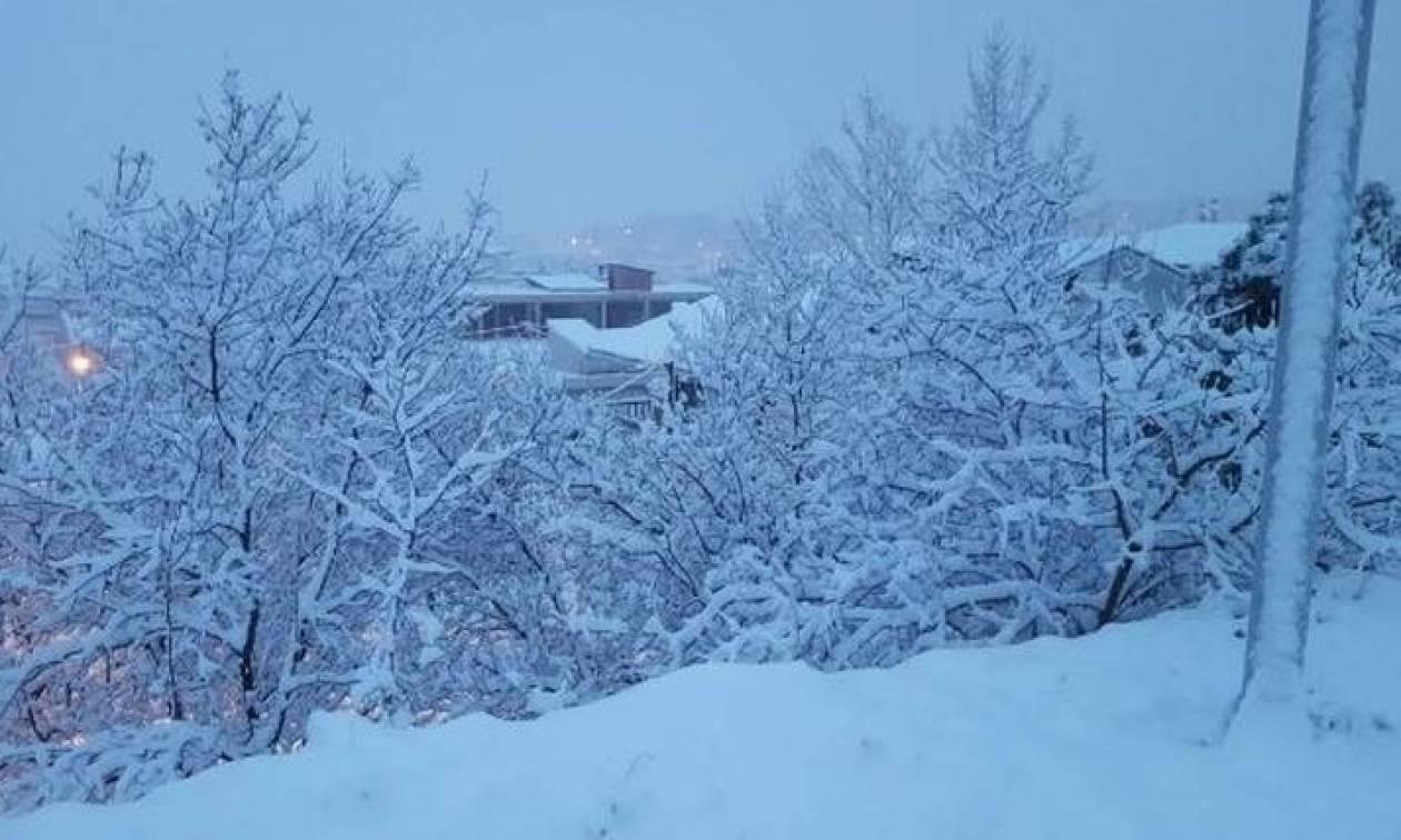 Απίστευτο: Σε αυτό το χωριό της Ελλάδας χιονίζει εδώ και 27 ημέρες ασταμάτητα (pics)