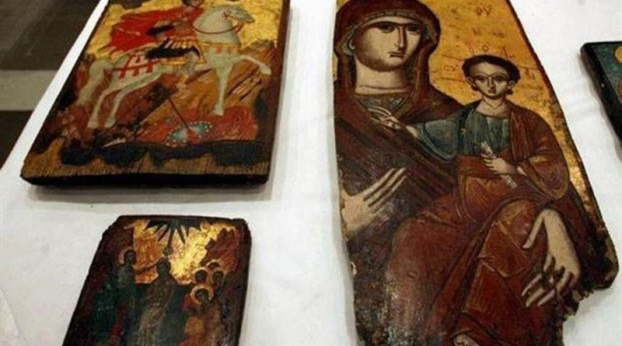 Ιωάννινα: Ιερόσυλοι έκλεψαν εικόνες του 19ο αιώνα από εκκλησία