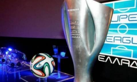 Super League: Το σημερινό πρόγραμμα