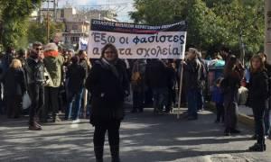 Πορεία κατά του φασισμού στο Πέραμα (pics)