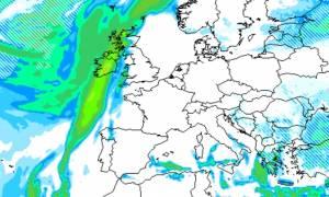 Καιρός: Φέρνει... χιόνια και στην Αθήνα η νέα ψυχρή εισβολή (προγνωστικοί χάρτες)