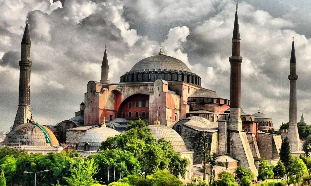 Ισλαμικό κράτος: Δεν υπάρχει Αγία-Σοφιά.  Θα βρείτε συντρίμμια και σπασμένες εικόνες