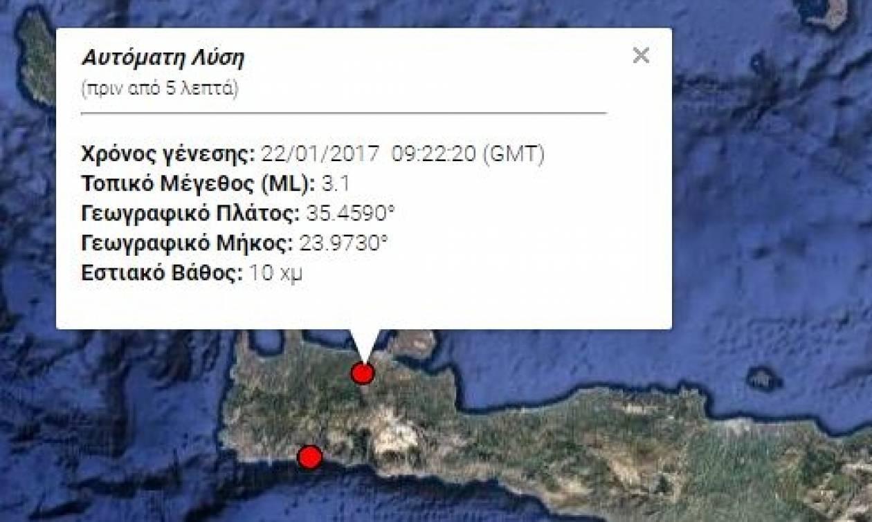 Σεισμός: Ταρακουνήθηκαν τα Χανιά