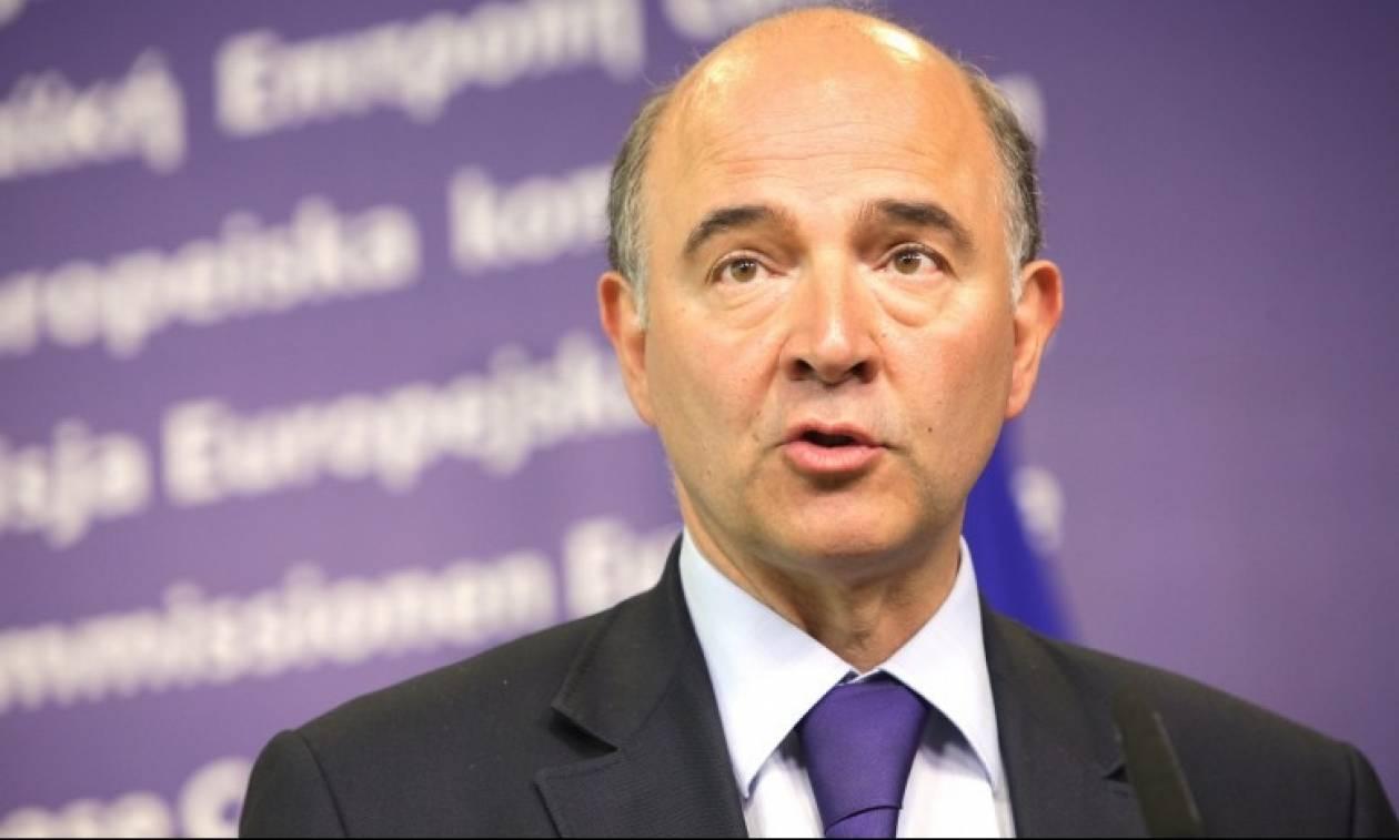 Μοσκοβισί: Όχι σε νέα μέτρα - Πρέπει να αναγνωριστούν οι προσπάθειές της Ελλάδας