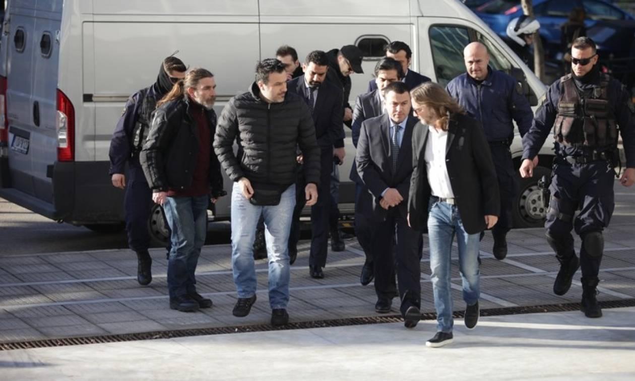Αποφασίζει σήμερα ο Άρειος Πάγος για τους 8 Τούρκους Στρατιωτικούς
