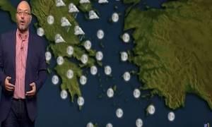 Καιρός: Για χιόνια και στα πεδινά την Παρασκευή, προειδοποιεί ο Σάκης Αρναούτογλου