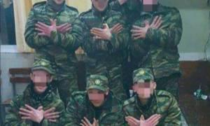 Σάλος με τον αλβανικό αετό σε ελληνικό στρατόπεδο! (photo)