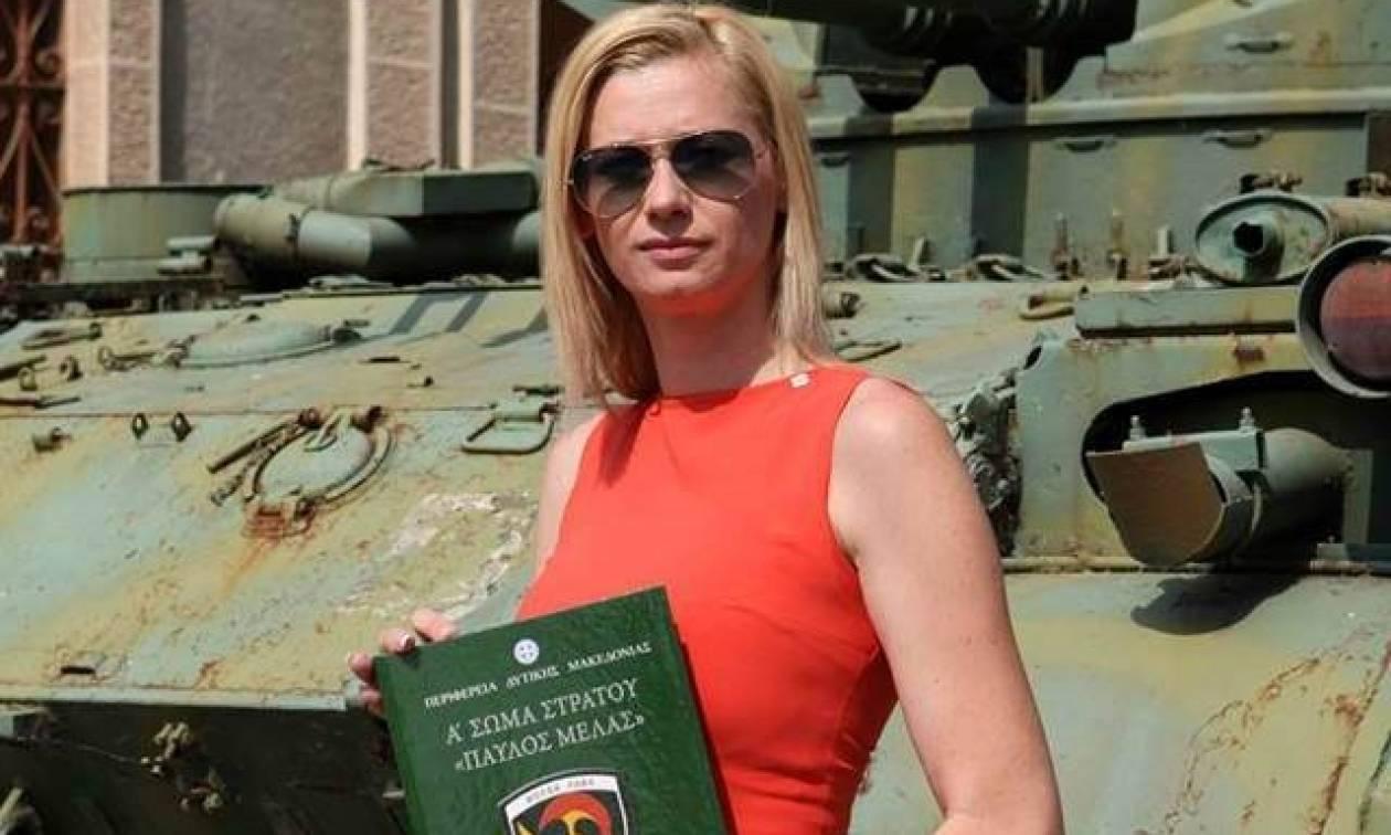 Ρ. Μακρή: Ο Καμμένος κρύβεται πίσω από το ΓΕΣ για τη φωτογραφία με τον αλβανικό αετό