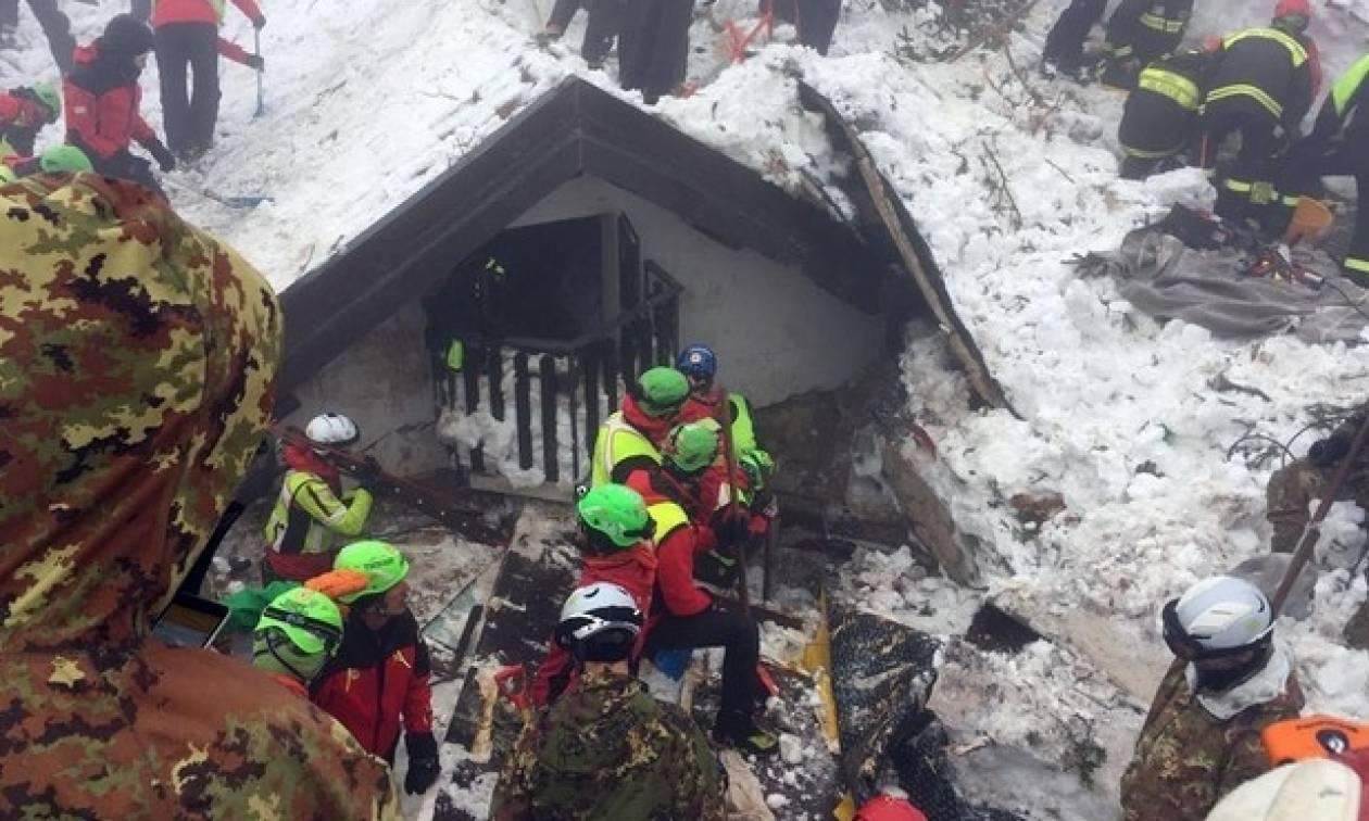 Χιονοστιβάδα Ιταλία: Τραγωδία δίχως τέλος - Τουλάχιστον 7 νεκροί (pics)