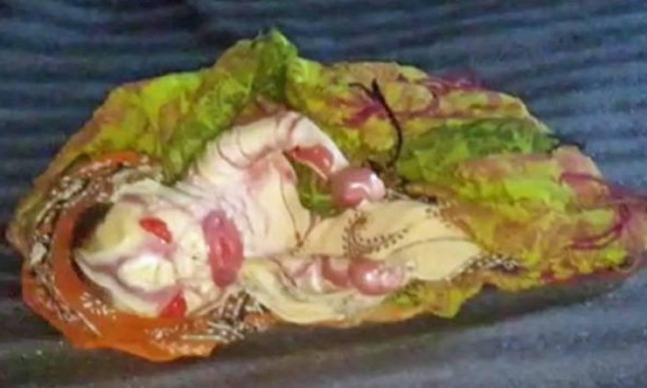 Σκληρές εικόνες: «Καταραμένη» μάνα γέννησε μωρό… άλιεν και αρνείται να το ταΐσει (video+pics)
