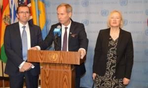 Ισχυρή δέσμευση Συμβουλίου Ασφαλείας για στήριξη της διαδικασίας για Κυπριακό, ηγέτες και Άιντε