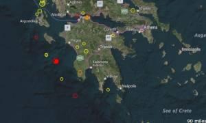 Ισχυρός σεισμός στην Κυπαρισσία