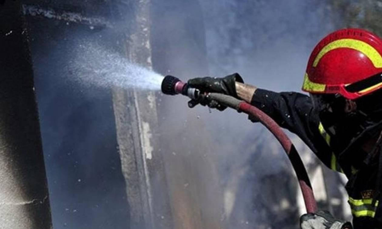 Συναγερμός για φωτιά στο Γαλάτσι