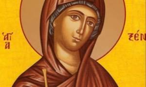 Αγία Ξένη: Η αγιοσύνη της αναγνωρίσθηκε κατά τη διάρκεια του ενταφιασμού της