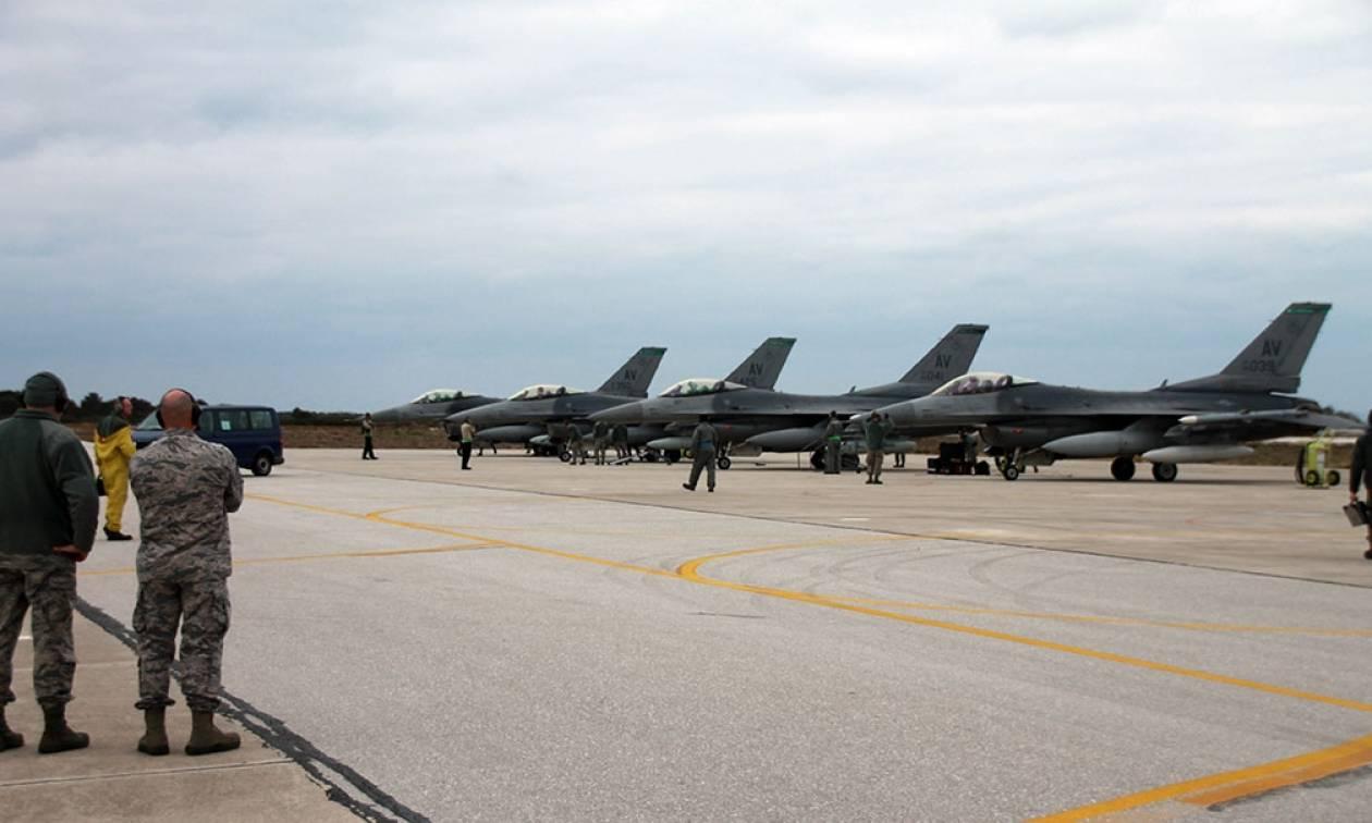 Πολεμική Αεροπορία: Συνεκπαίδευση με την 555th FS της USAFE (pics)