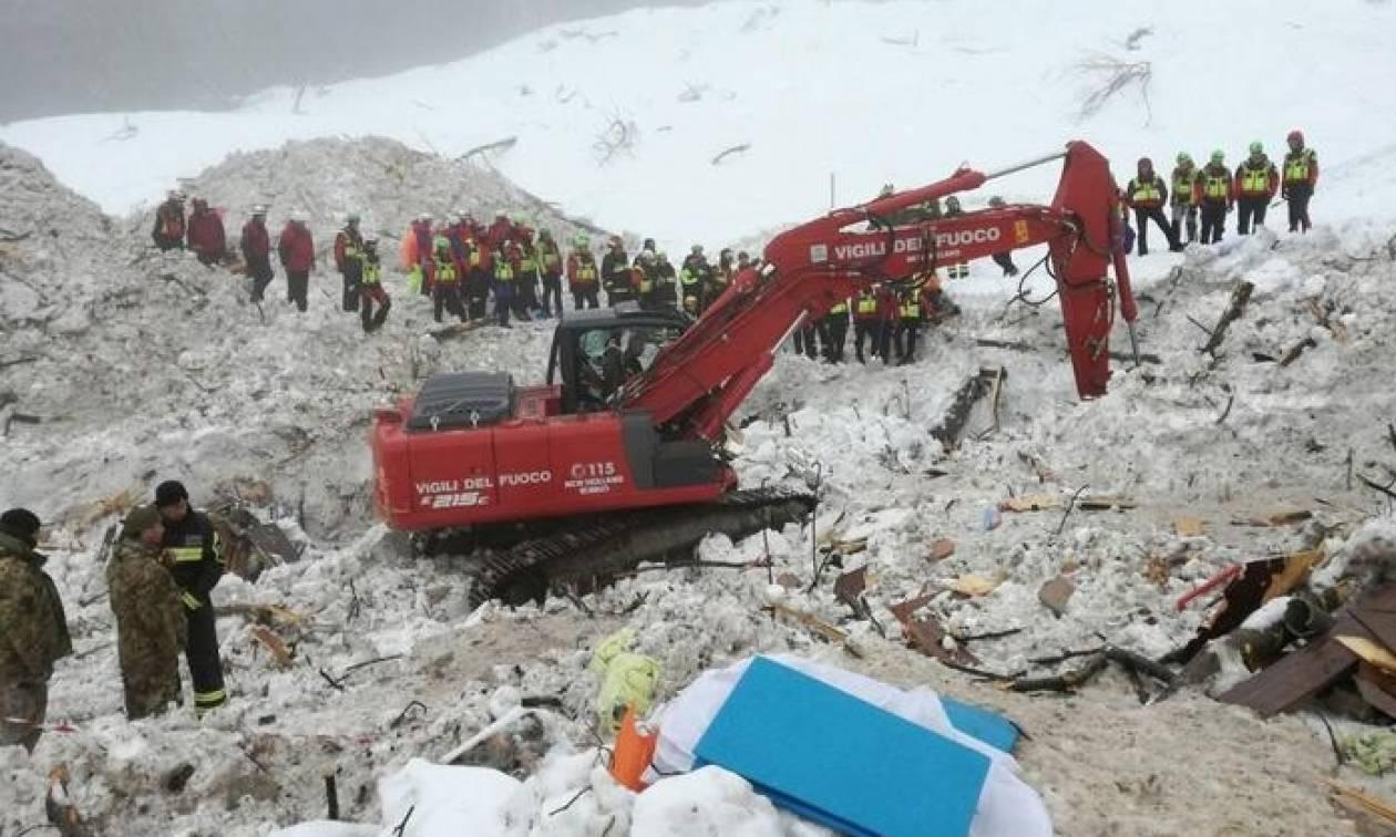 Χιονοστιβάδα Ιταλία: Μεγαλώνει ο κατάλογος των νεκρών στο ξενοδοχείο Riogopiano (pics)