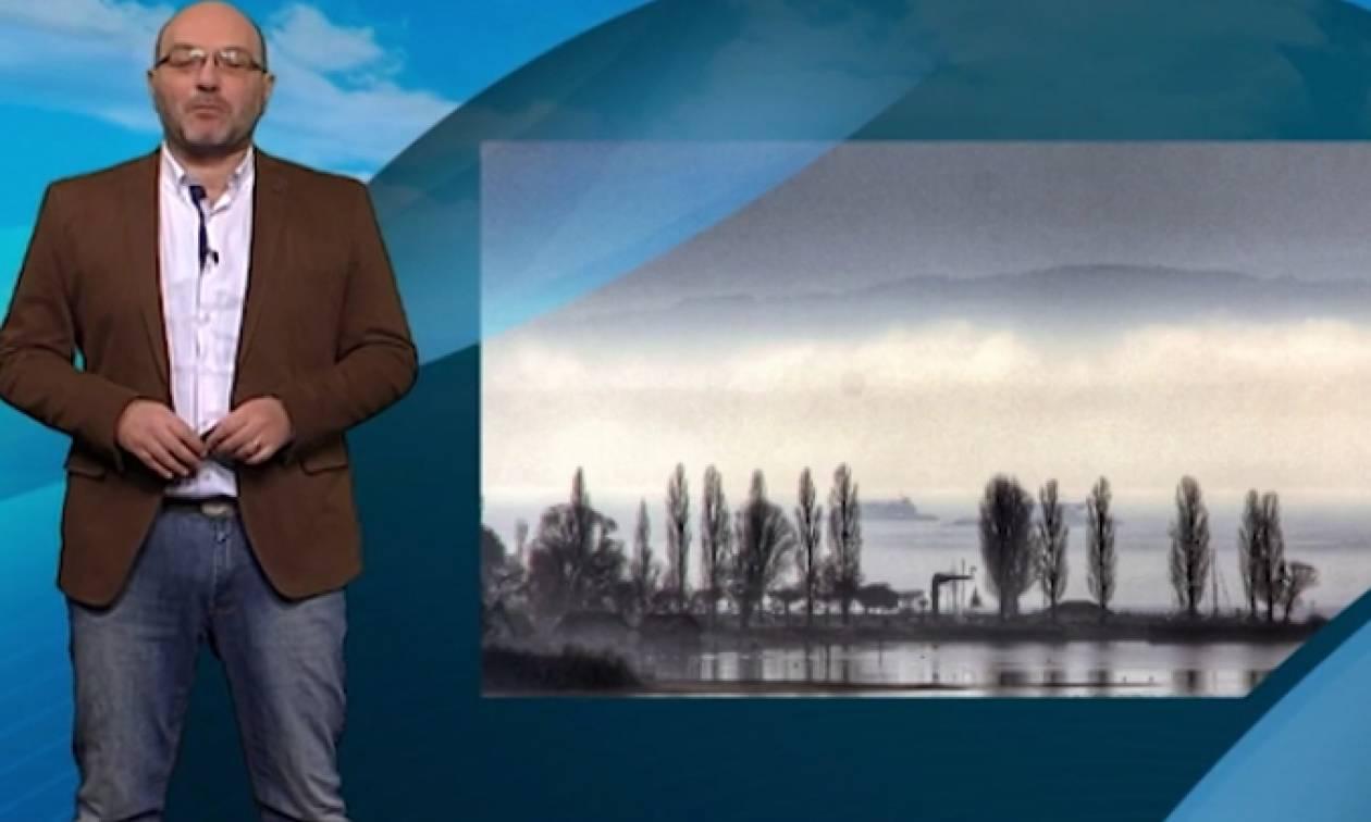 Καιρός: Ολες οι περιοχές που θα χιονίσει, από τον Σάκη Αρναούτογλου (video)