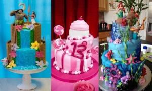 Τριάντα ένα υπέροχες ιδέες για παιδικές τούρτες