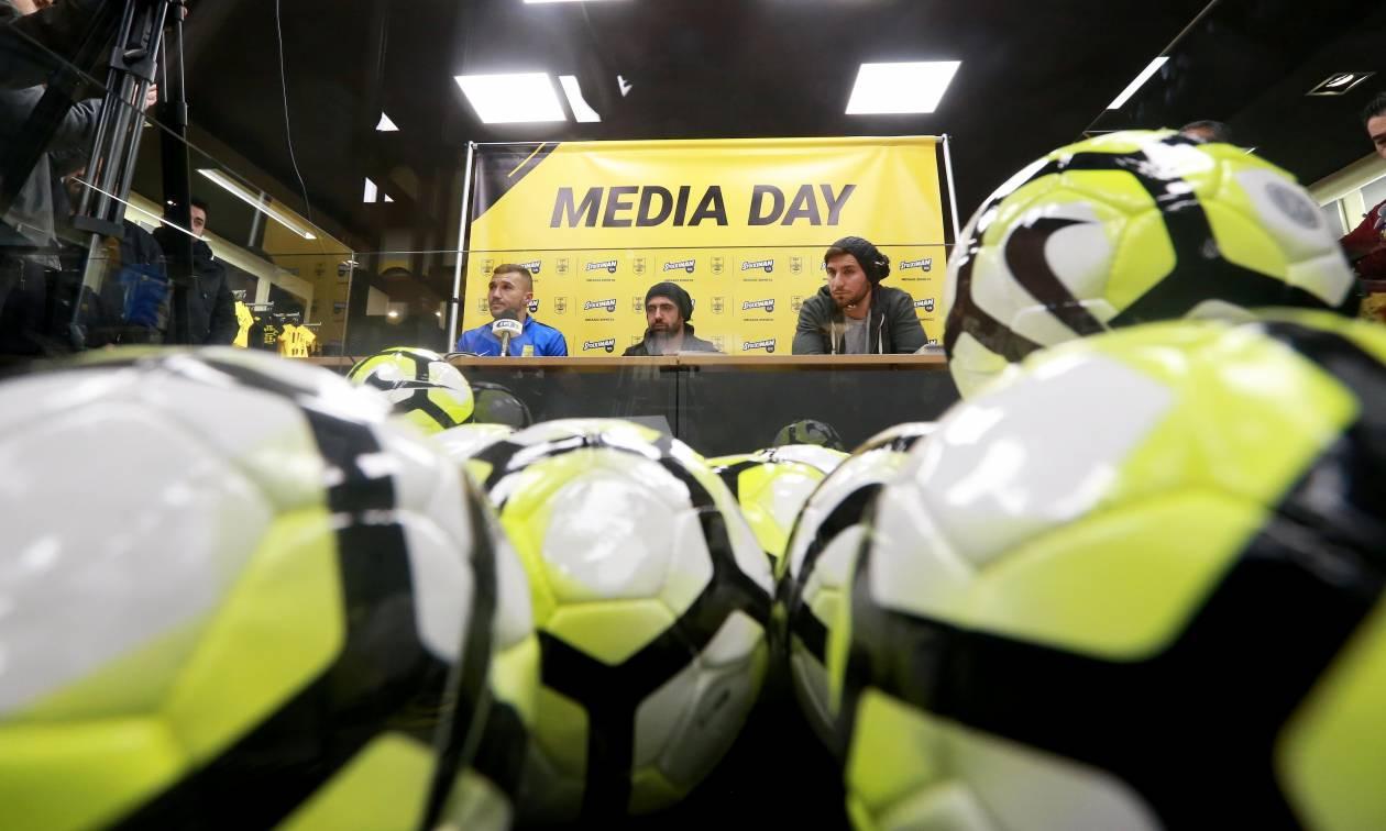 Media Day ΠΑΕ ΑΡΗΣ και Stoiximan.gr
