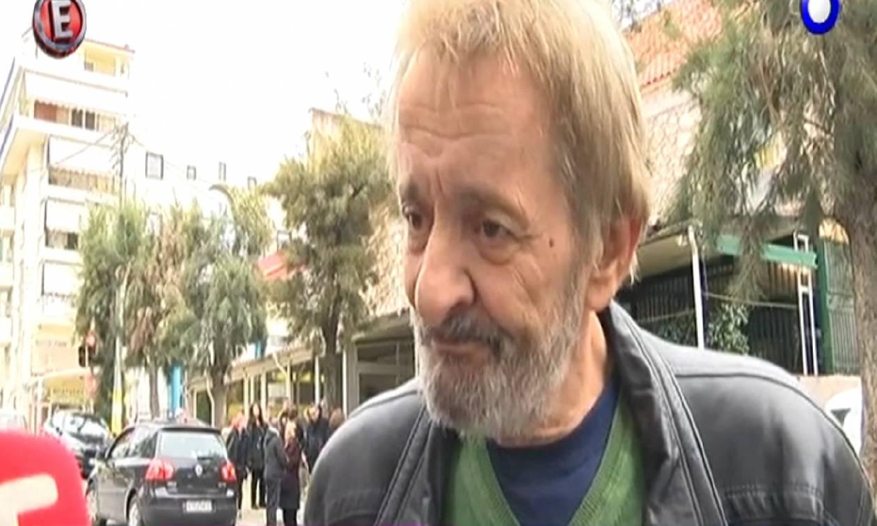 Γιώργος Γεωργίου: Ράγισαν καρδιές στην κηδεία του γιου του - Συντετριμμένος ο δημοσιογράφος (vid)