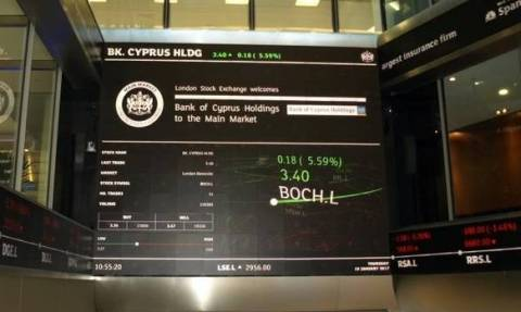 Επαφές επενδυτών με Τράπεζα Κύπρου μετά την εισαγωγή στο Χρηματιστήριο του Λονδίνου