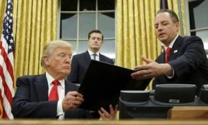 Ο Τραμπ υπέγραψε για την ανέγερση τείχους μεταξύ ΗΠΑ-Μεξικό