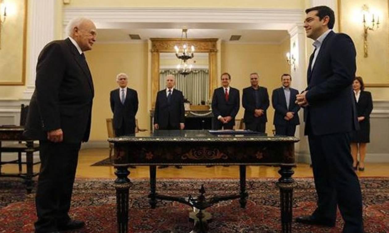 Σαν σήμερα το 2015 σχηματίζεται κυβέρνηση συνεργασίας ΣΥΡΙΖΑ - ΑΝΕΛ