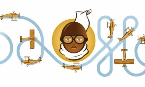 Bessie Coleman: Στην πρώτη μαύρη γυναίκα πιλότο είναι αφιερωμένο το Doodle της Google