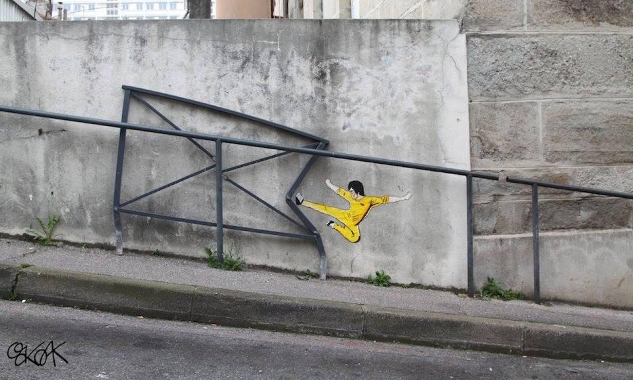Viral: Σαράντα μεγαλοφυή παραδείγματα τέχνης δρόμου που θα σας «φτιάξουν» την ημέρα (Pics)