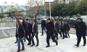 Στον Άρειο Πάγο οι Τούρκοι στρατιωτικοί - Αναμένονται οι αποφάσεις για το μέλλον τους (pics&vid)