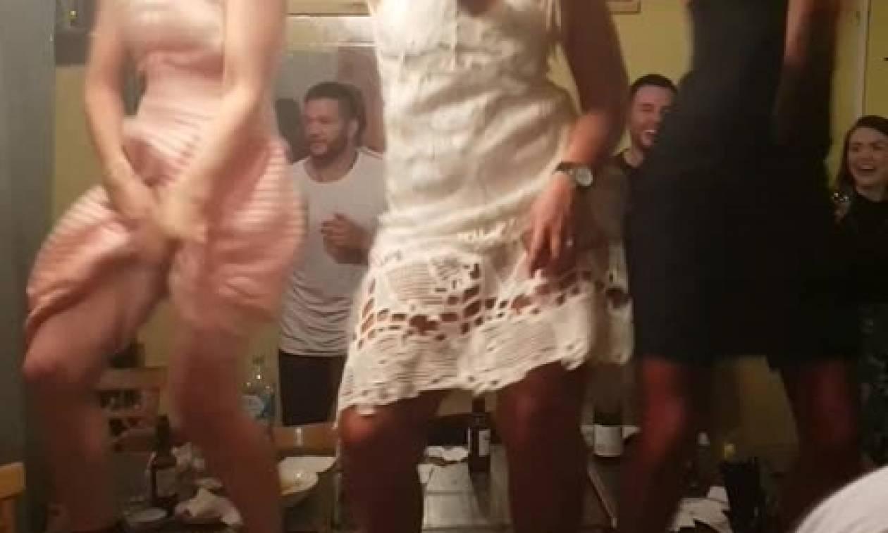 Ο σέξι χορός στο μπάτσελορ κατέληξε σε σέξι... ατύχημα (video)